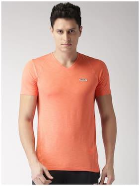 2Go Men High Neck Sports T-Shirt - Red