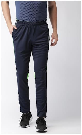 008afbfff6 Buy 2GO Men Cotton Track Pants - Blue Online at Low Prices in India ...
