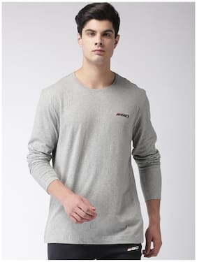 2Go Men Round Neck Sports T-Shirt - Grey