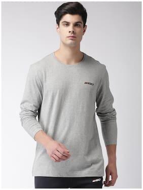 2Go Men Round Neck Sports T-Shirt - Grey