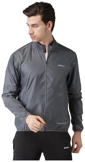 2GO Men Polyester Jacket - Grey