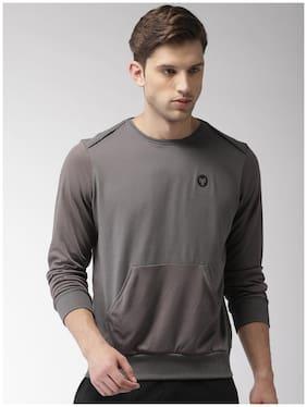 2GO Men Cotton blend Sweatshirt - Grey