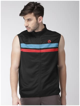2GO Men Polyester Jacket - Black