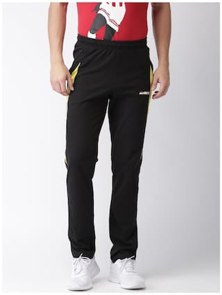 e11ae4c570 Buy 2Go Men Cotton Track Pants - Black Online at Low Prices in India ...