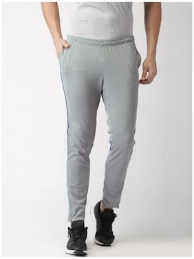 2Go Men Polyester Blend Track Pants - Grey