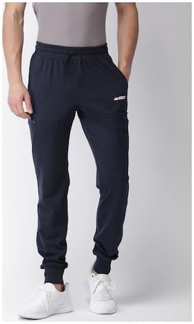 2GO Men Cotton Track Pants - Navy blue