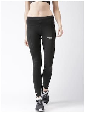 2Go Women Slim Fit Blended Solid Track Pants - Black