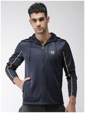 Men Micro Polyester Long Sleeves Jacket