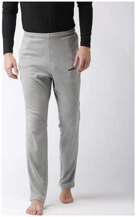 2GO Men Cotton Track Pants - Grey