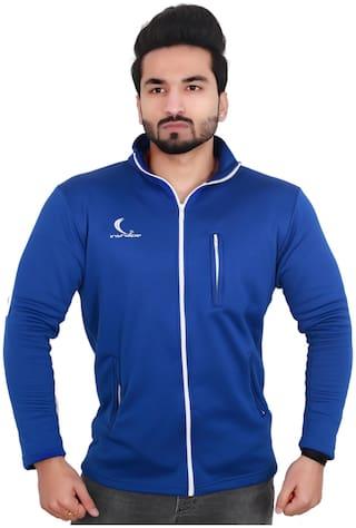 Inshape Men Fleece Jacket - Blue