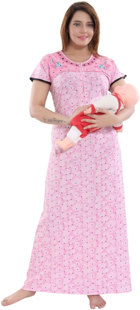 9shines Label Pink Night Gown