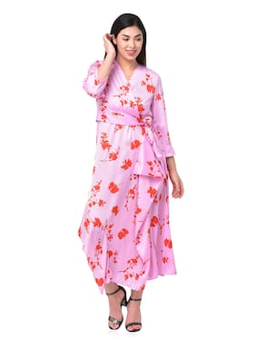 Women Floral Dress ,Pack Of 1