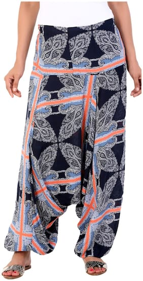 Aaboli Multi Color Rayon Harem Pant