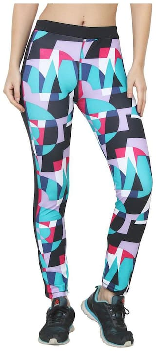 AARMY FIT Women Slim fit Cotton Printed Track pants - White