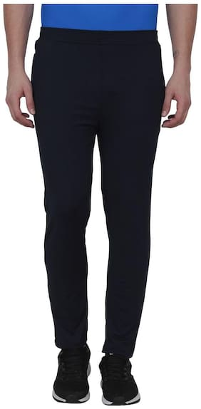 Body Fit Polyester Blend Track Pants Pack Of 1