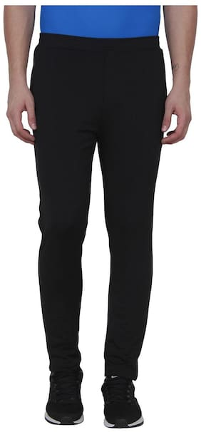 AARMY FIT Men Black Solid Body fit Track pants