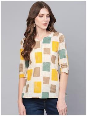 Women Printed Shoulder Strap Top ,Pack Of 1