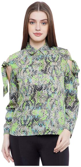 AASK Women Regular Fit Printed Shirt - Multi