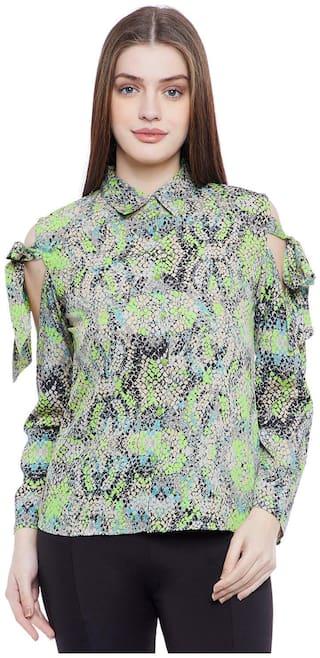 AASK Women Multi Printed Regular Fit Shirt