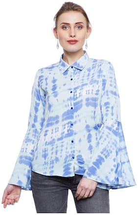 AASK Women Regular Fit Printed Shirt - Multi