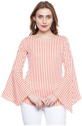 AASK Women Striped Regular top - Multi