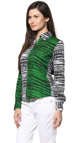 Shirt Bella Multicolor Abiti Rayon Bella Abiti qzUwSHX
