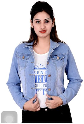 Adiba Women Shrug - Blue