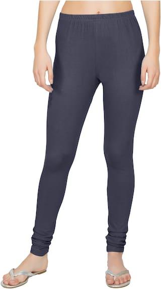 Adicap Women Full Length Solid Leggings