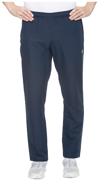 Adidas Men Polyester Track Pants - Navy blue