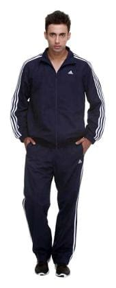 81357a9d053 Buy Adidas Men Polyester Blend Track Suit - Blue Online at Low ...
