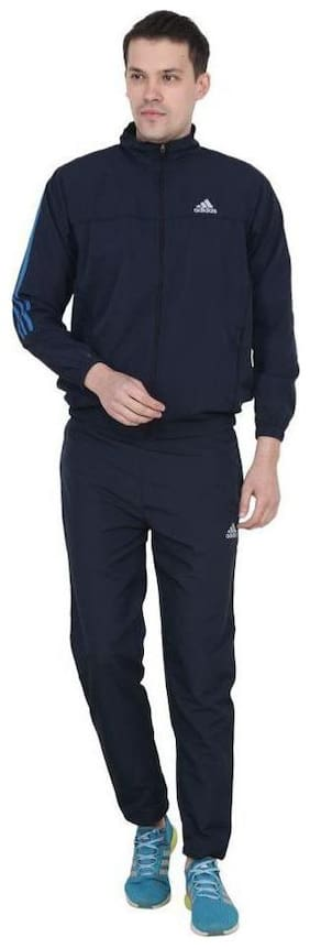 Regular Fit Polyester Blend Track Suit