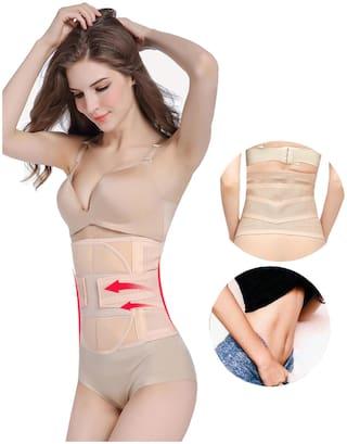 Adjustable Shaper Belt Slimming Belt Waist Shaper, Tummy Trimmer, Sweat Slim Belt, Belly Fat Burner, Stomach Fat Burner, Super Stretch, Body Shaper Body Slim Look for Unisex