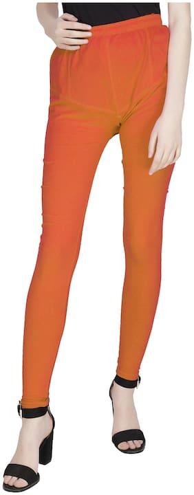 ADORSY Lycra Leggings - Orange