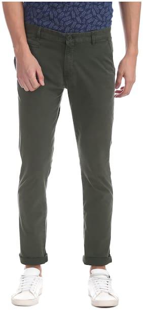 Men Skinny Fit Trousers