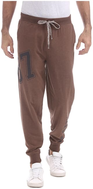 Aeropostale Printed Regular Fit Joggers
