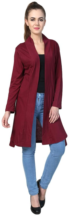 AF Affair Women Shrug - Maroon