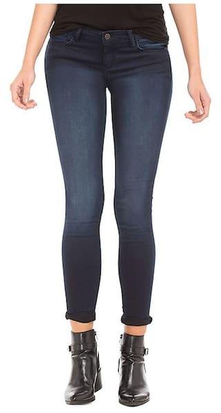 AFW Women's Blue Denim Jeans Strechable q1wBZxnqaR