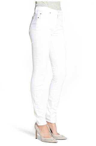 Strechable Jeans Women's Denim White AFW gqf6RwEx