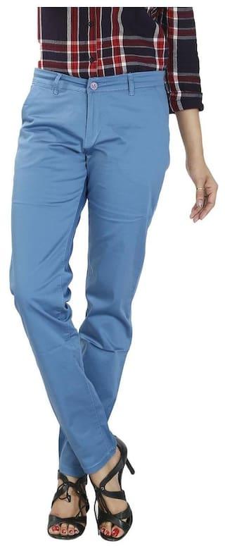 Airwalk Women's SuperFine Cotton Trouser