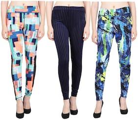 Aiyra Women Polyester Ankle legging Multi color
