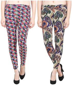 Aiyra Women Printed Legging Multi