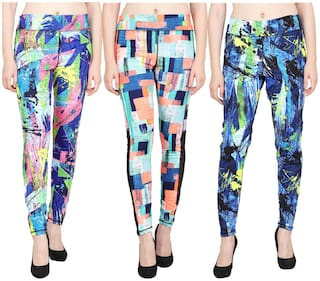 Aiyra Women Printed Legging Multi