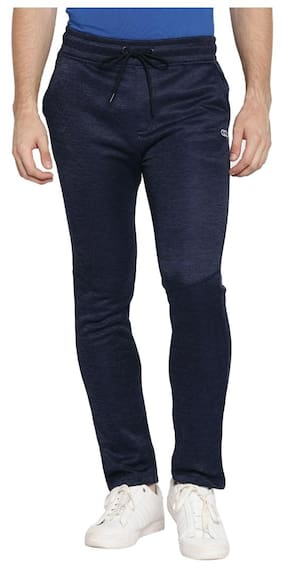 Ajile By Pantaloons Men Polyester Blend Track Pants - Blue