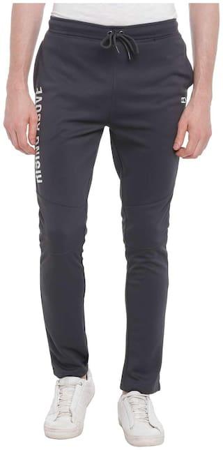 Ajile By Pantaloons Men Polyester Blend Track Pants - Grey