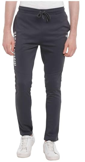 Ajile By Pantaloons Men Polyester Blend Track Pants - Grey