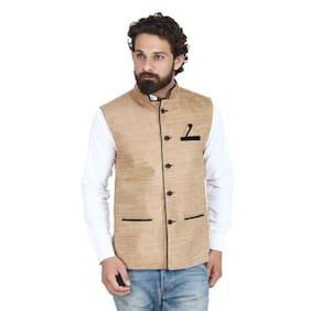 Akaas Skin Stylesh Velvet Nehru Jacket