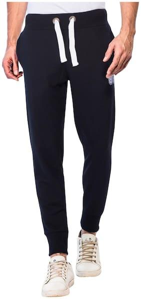 Regular Fit Blended Track Pants Pack Of 1