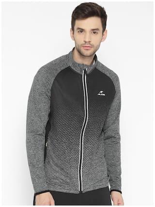 Alcis Men Black Colorblocked Sports jacket