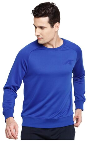 ALCIS MEN BLUE CAMOU SWEAT