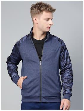 Men Polyester Long Sleeves Sports Jacket